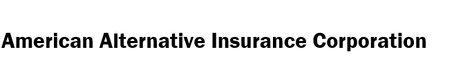 American Alternative Insurance Corporation